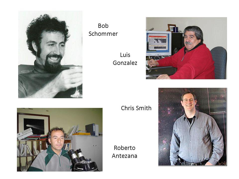 Bob Schommer Luis Gonzalez Chris Smith Roberto Antezana