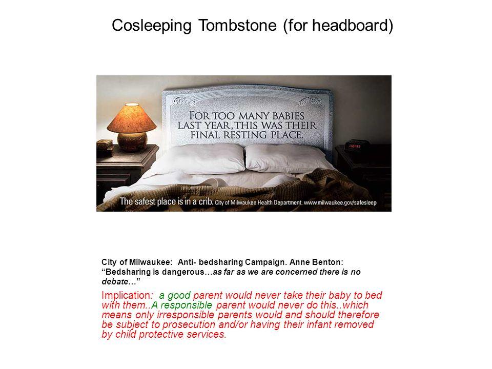 Cosleeping Tombstone (for headboard)