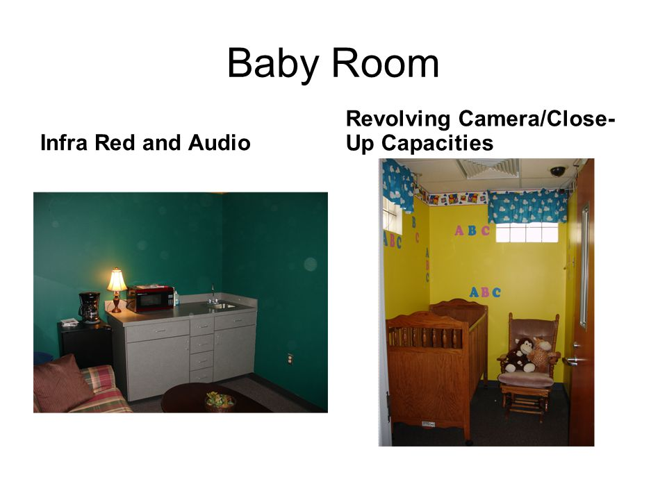 Baby Room Revolving Camera/Close-Up Capacities Infra Red and Audio