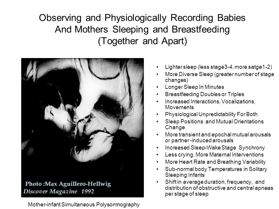 Mother-infant Simultaneous Polysomnography