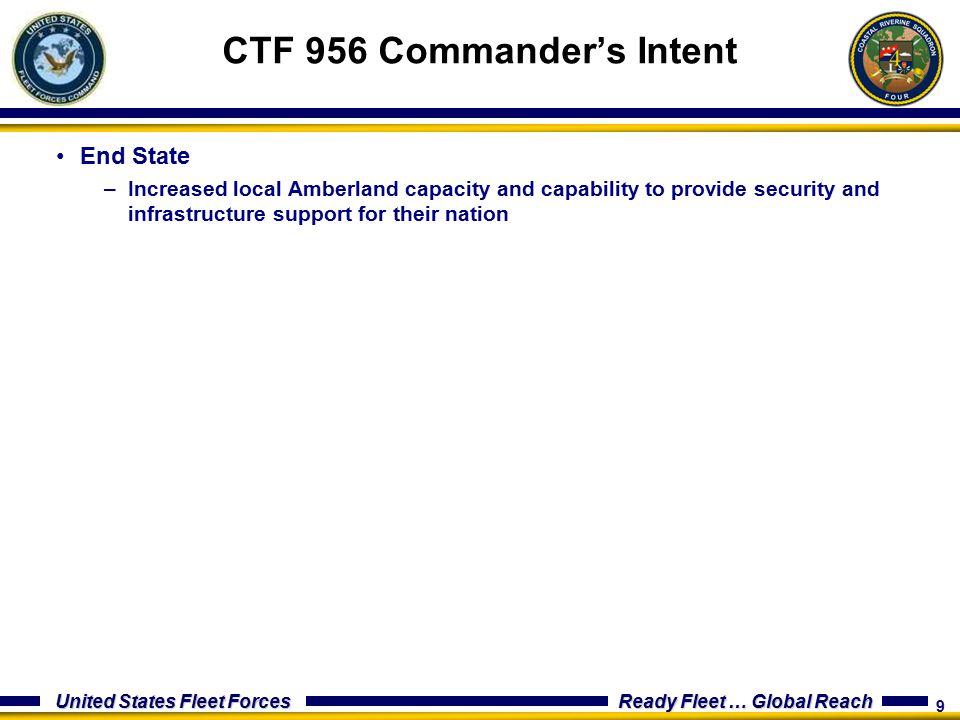 CTF 956 Commander's Intent