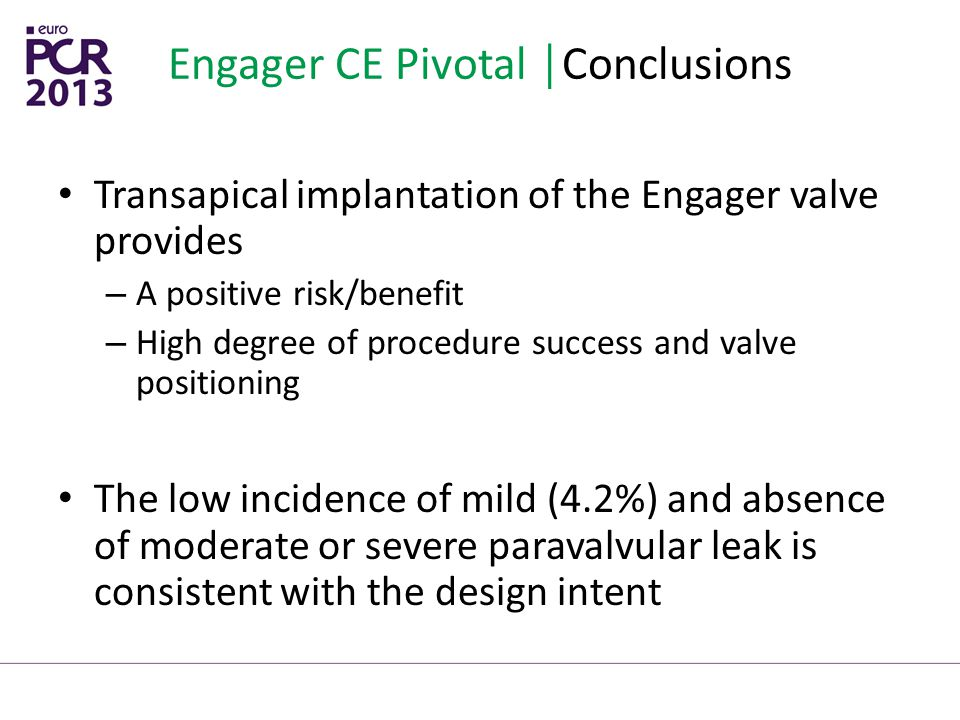Engager CE Pivotal │Conclusions
