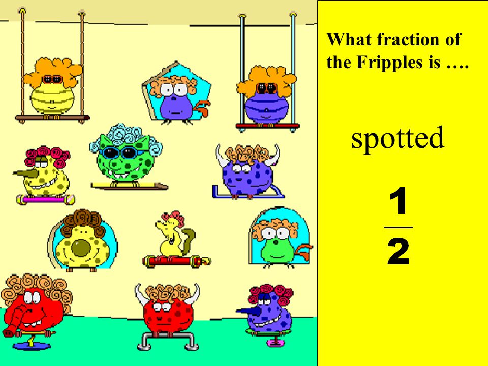 What fraction of the Fripples is ….