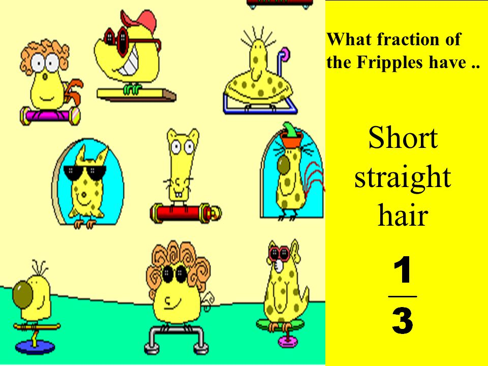 What fraction of the Fripples have ..
