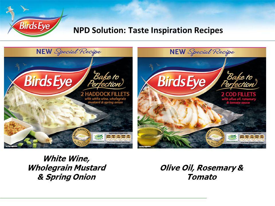 NPD Solution: Taste Inspiration Recipes