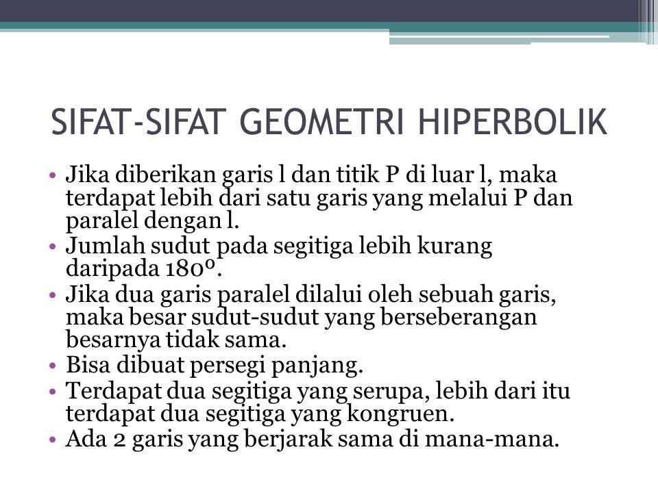 SIFAT-SIFAT GEOMETRI HIPERBOLIK