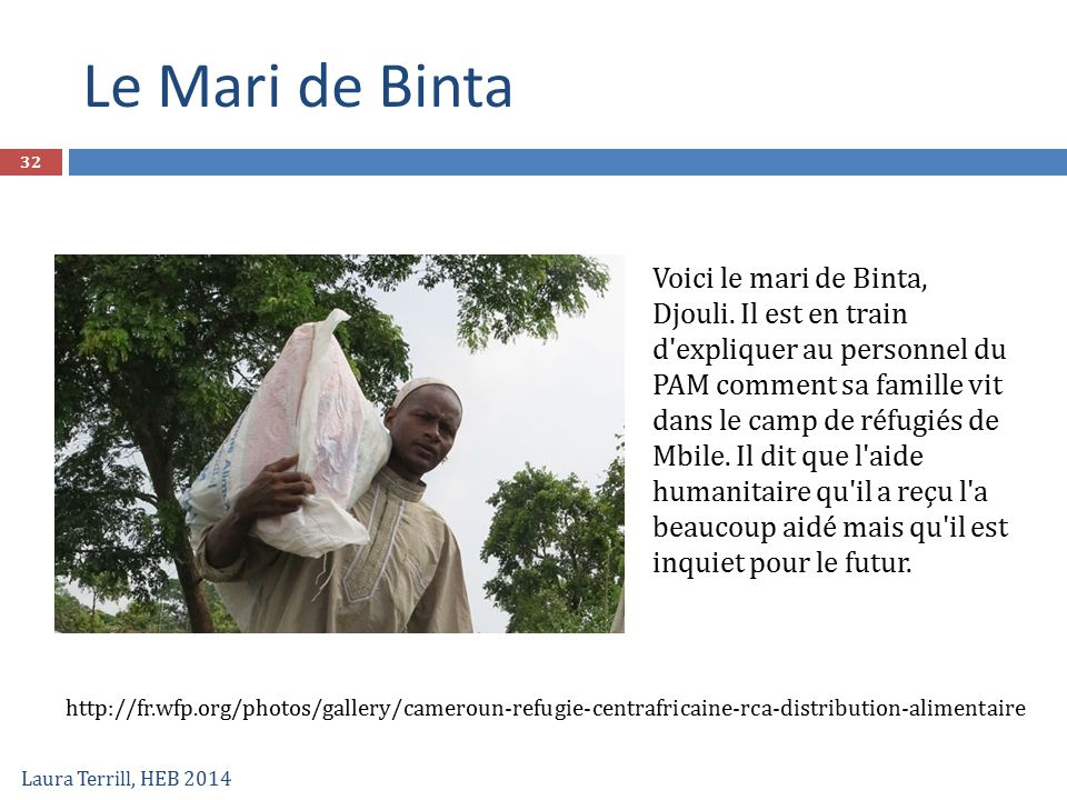 Le Mari de Binta