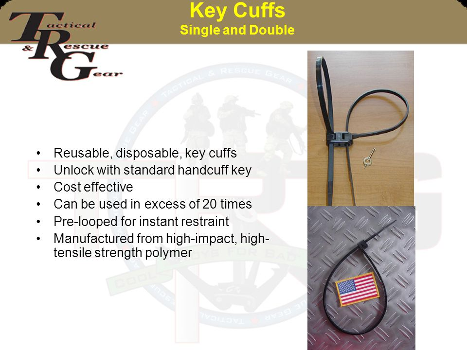Key Cuffs Single and Double