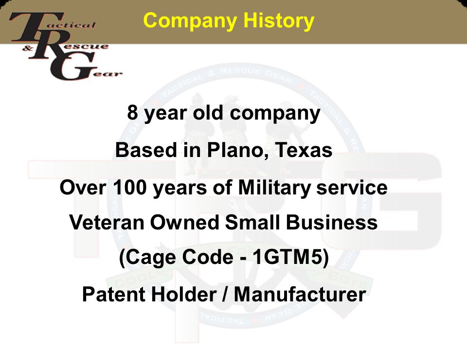 Over 100 years of Military service Veteran Owned Small Business