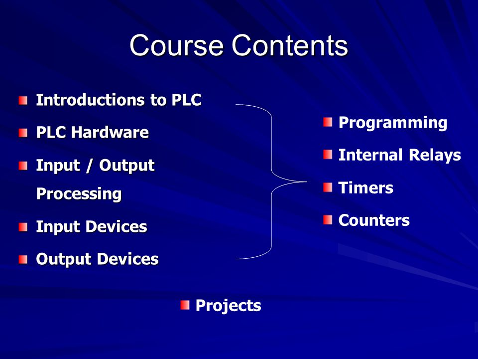 plc input and output devices pdf
