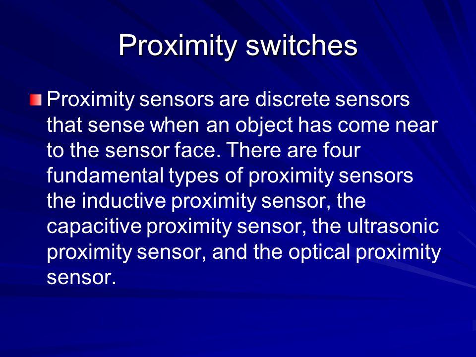 Proximity switches