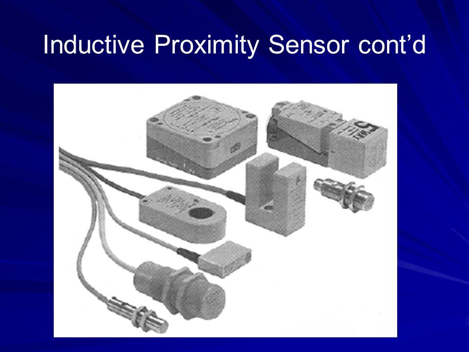 Inductive Proximity Sensor cont'd