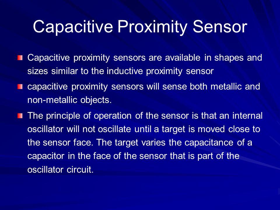 Capacitive Proximity Sensor