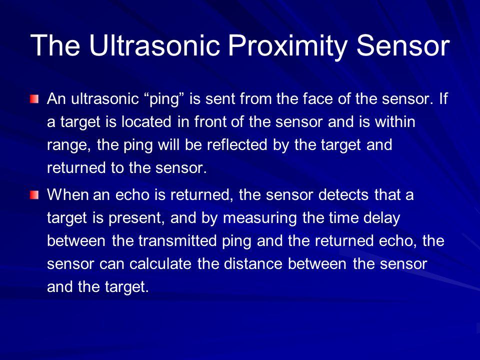 The Ultrasonic Proximity Sensor