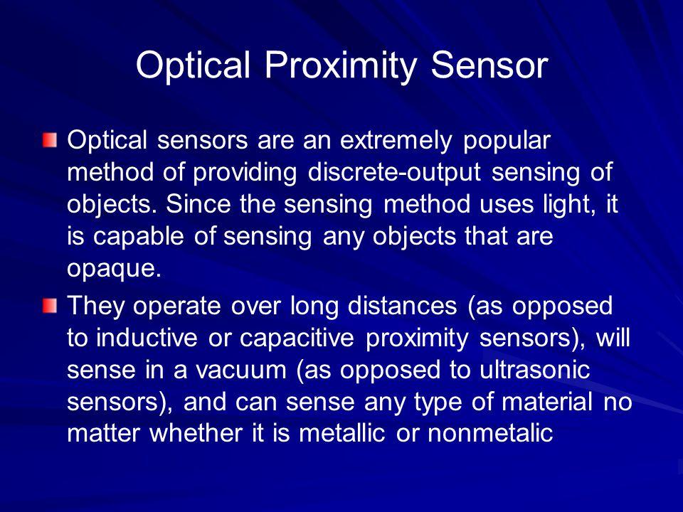 Optical Proximity Sensor
