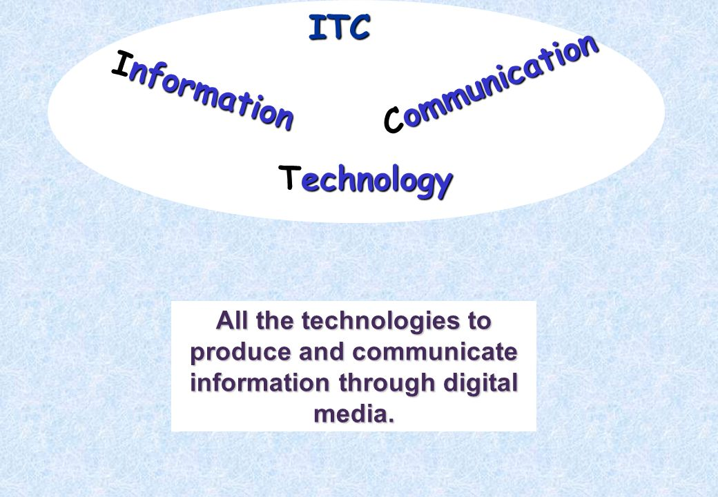 ITC Communication Information Technology