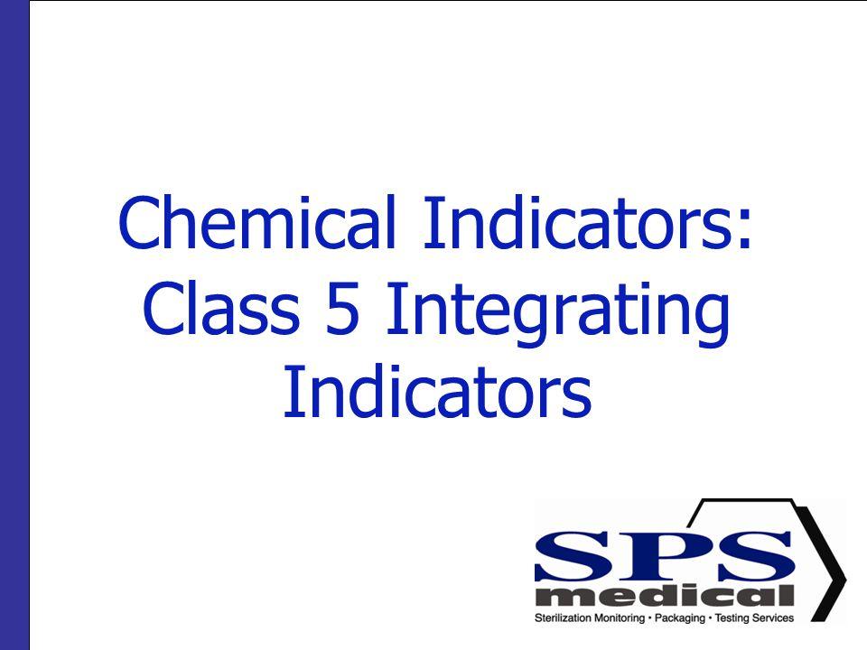 Chemical Indicators: Class 5 Integrating Indicators