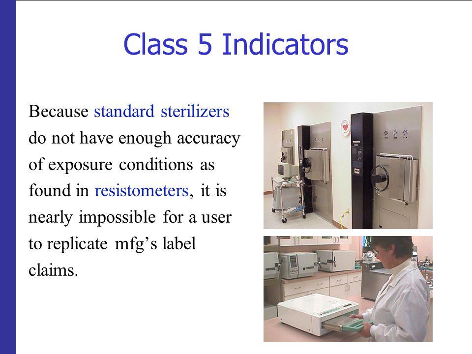 Class 5 Indicators