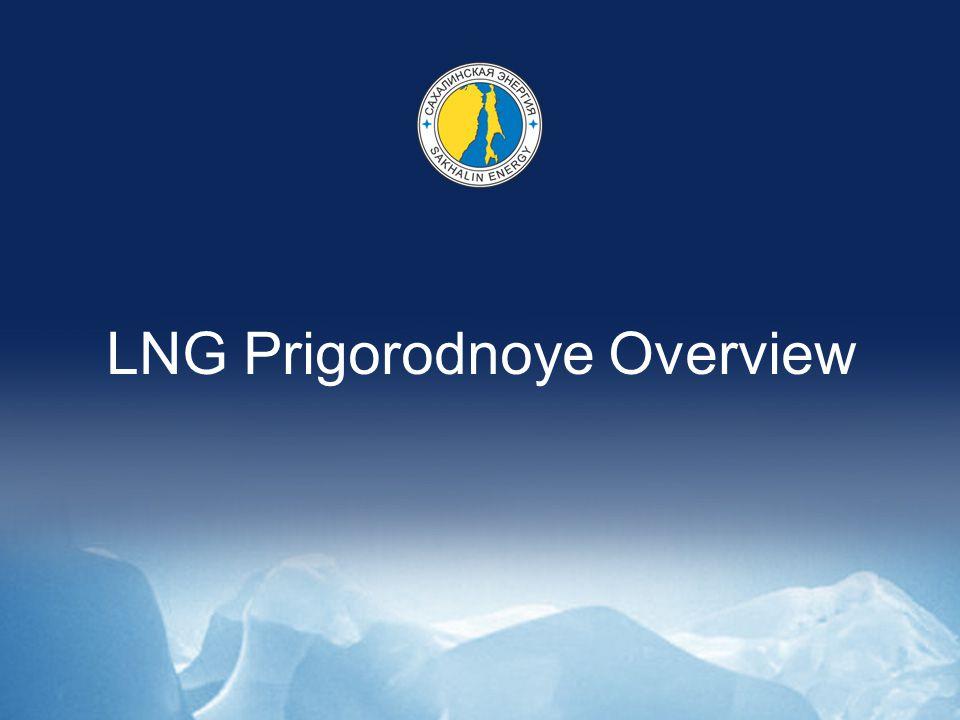 LNG Prigorodnoye Overview