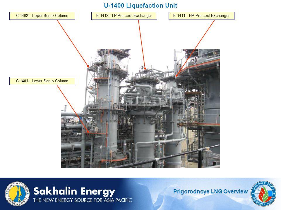 U-1400 Liquefaction Unit C-1402– Upper Scrub Column