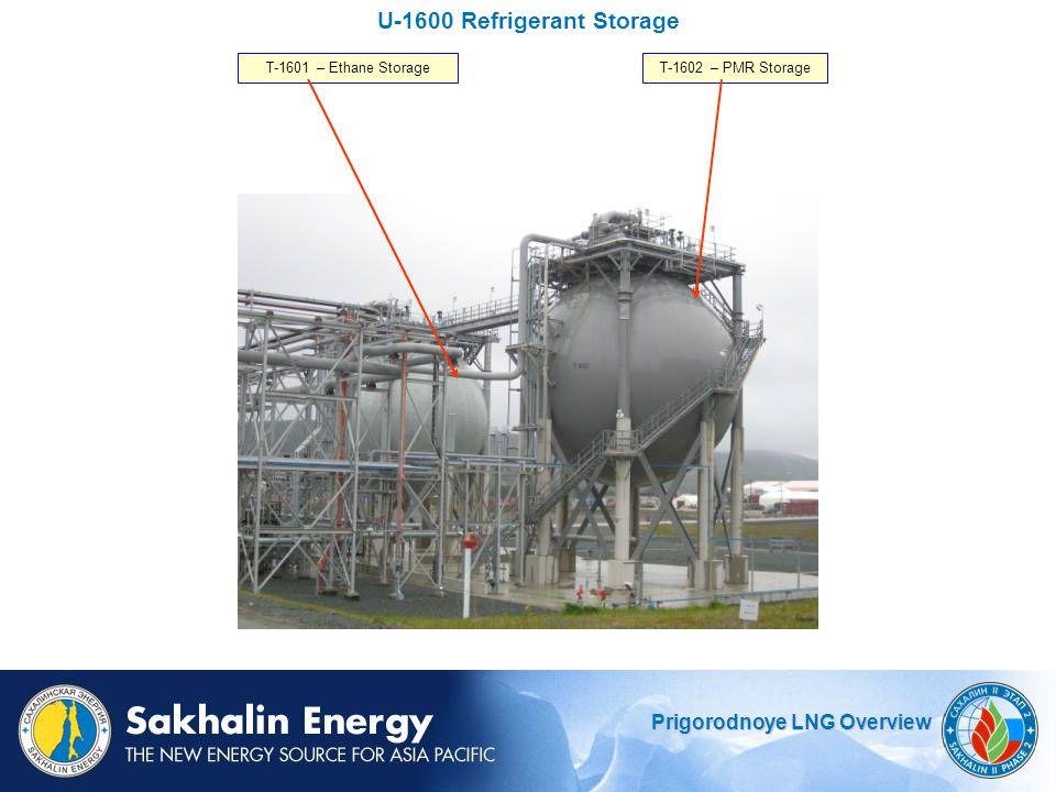 U-1600 Refrigerant Storage