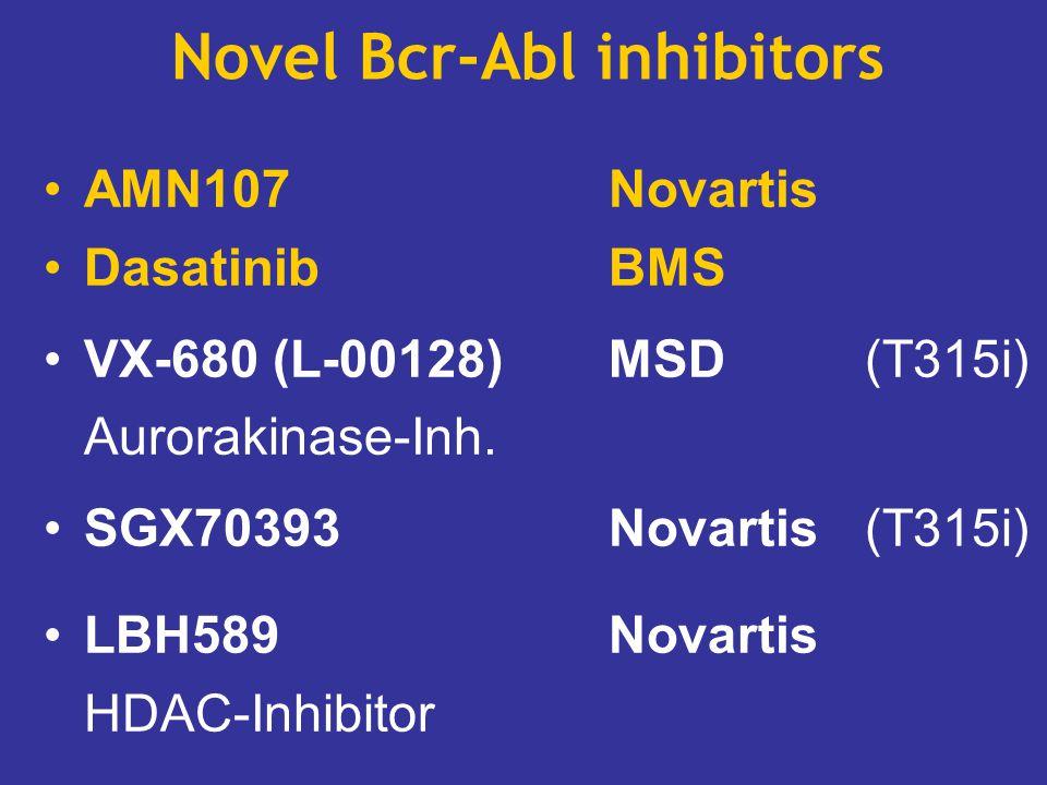 Novel Bcr-Abl inhibitors
