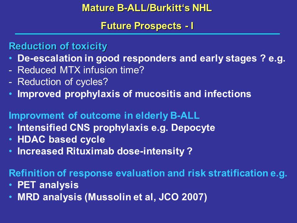 Mature B-ALL/Burkitt's NHL
