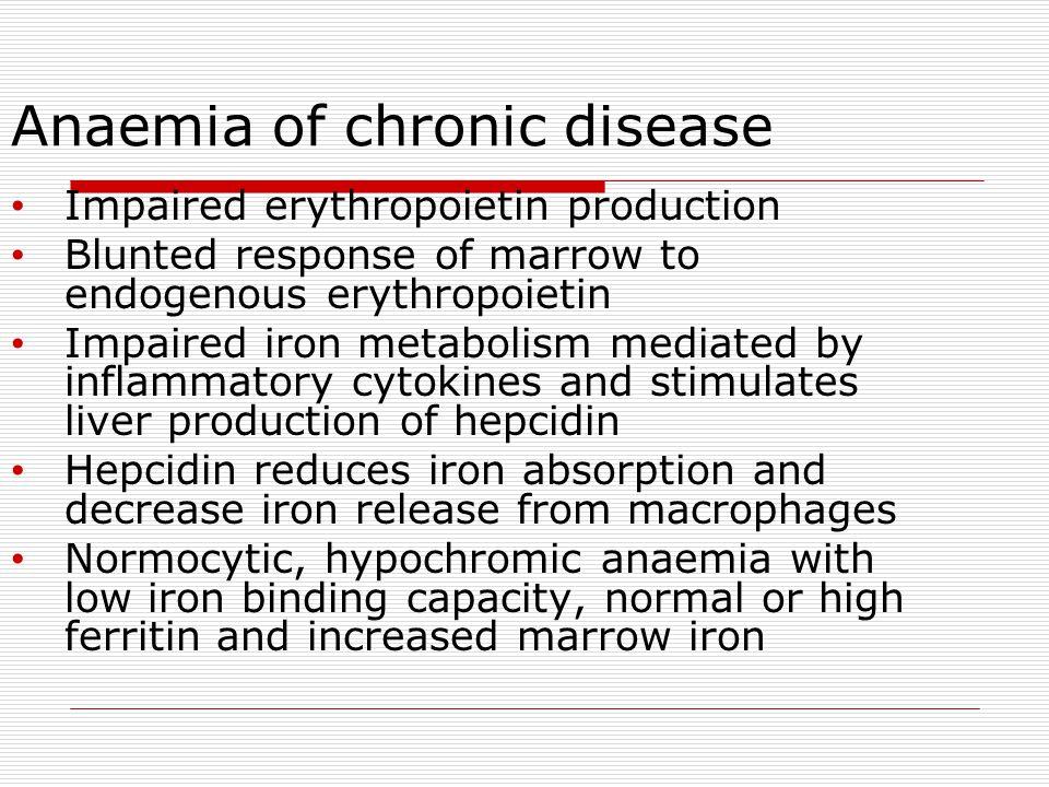 Anaemia of chronic disease