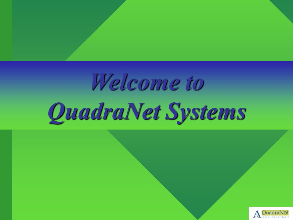 Welcome to QuadraNet Systems