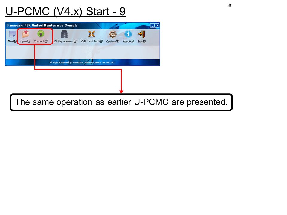 The same operation as earlier U-PCMC are presented.