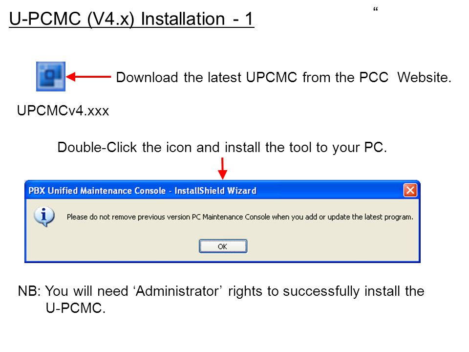 Double-Click the icon and install the tool to your PC.