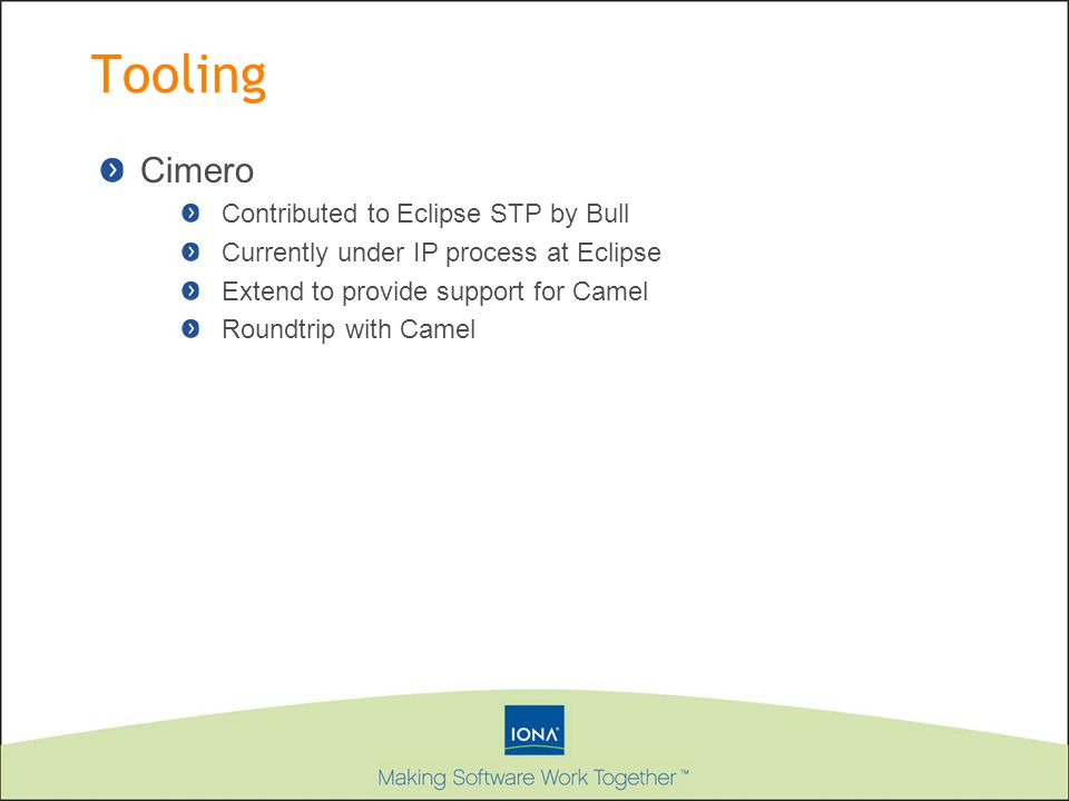 Tooling Cimero Contributed to Eclipse STP by Bull