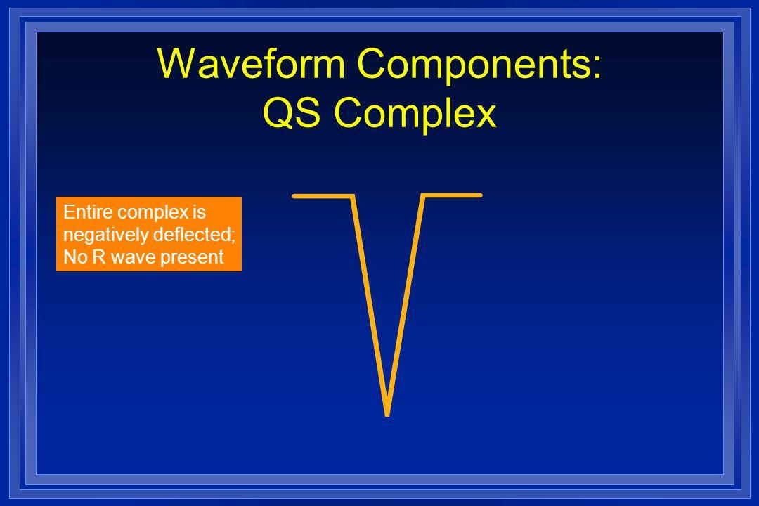 Waveform Components: QS Complex