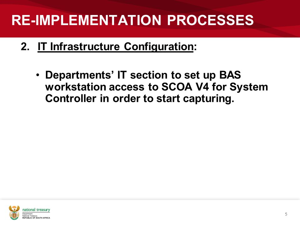 RE-IMPLEMENTATION PROCESSES