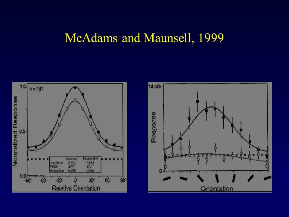 McAdams and Maunsell, 1999