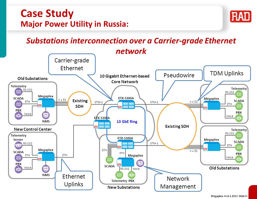Case Study Major Power Utility in Russia: