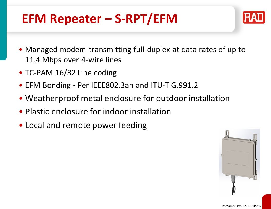 EFM Repeater – S-RPT/EFM