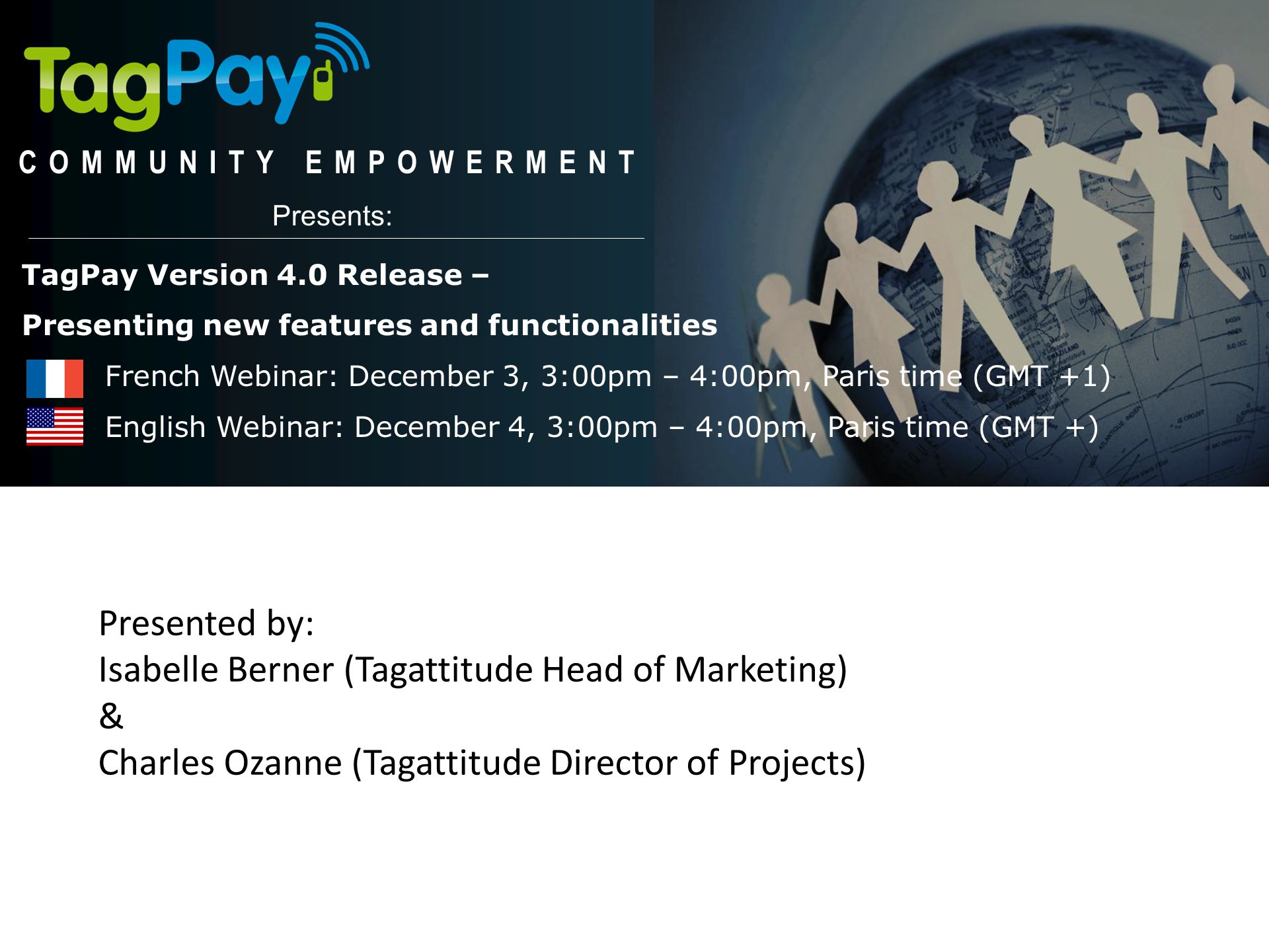 Isabelle Berner (Tagattitude Head of Marketing) &