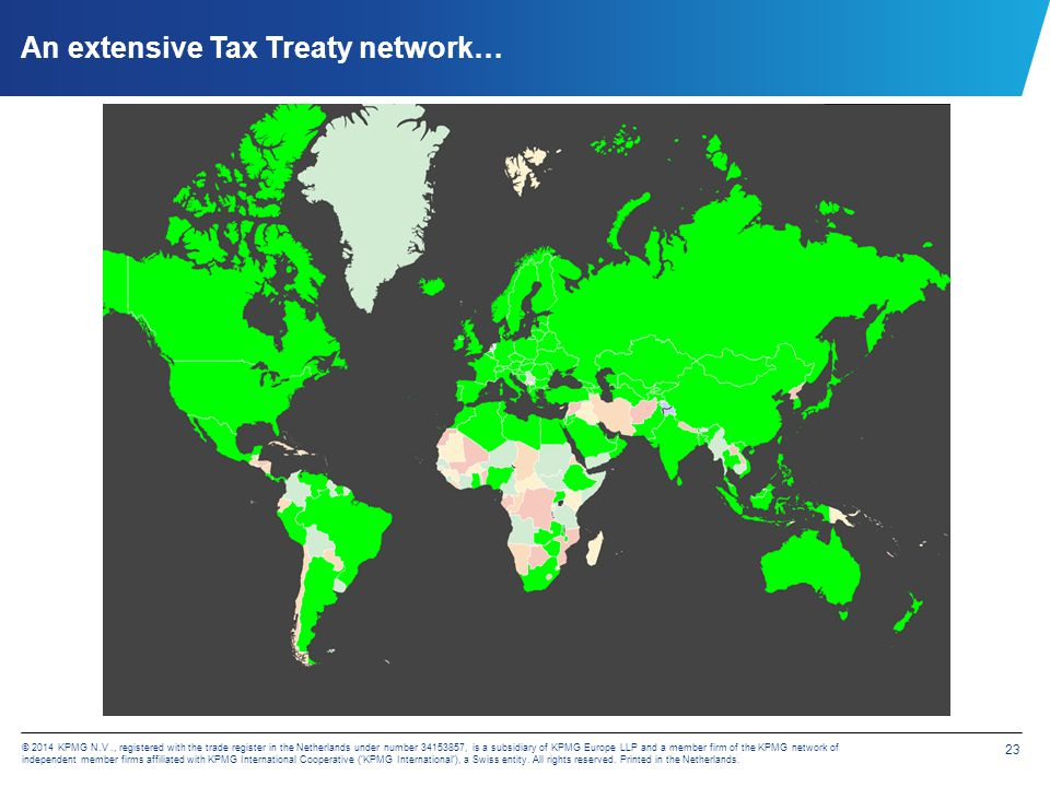 as well as Investment Protection Treaty network...