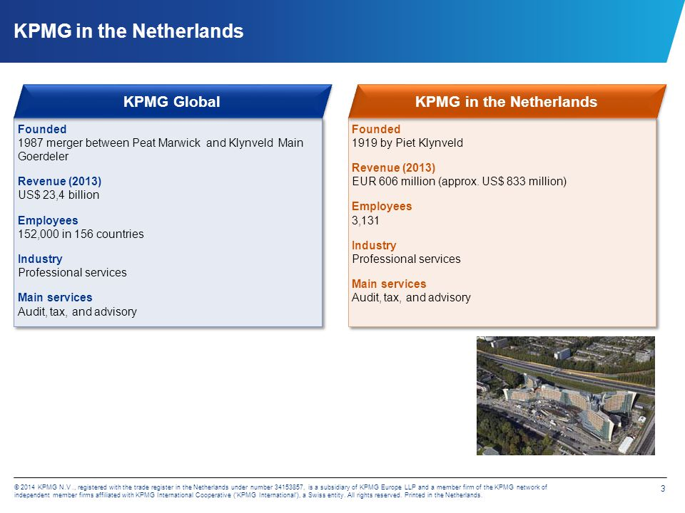 KPMG's High Growth Market Desk Africa – multi discipline approach