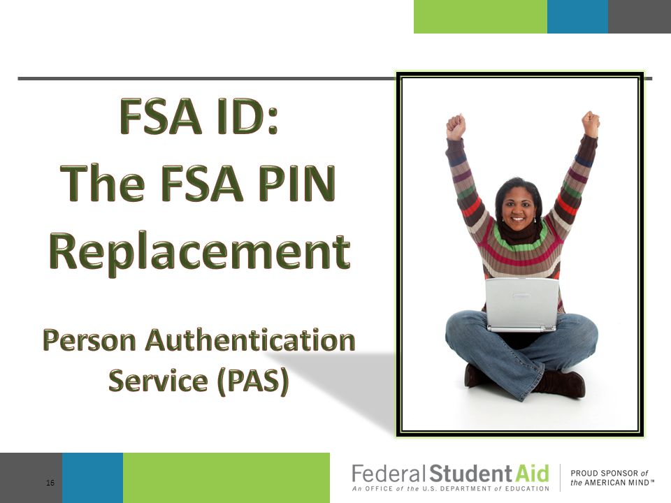 The FSA PIN Replacement Person Authentication