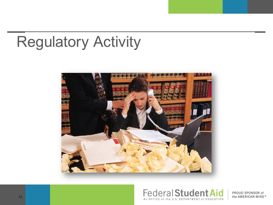 Regulatory Activity