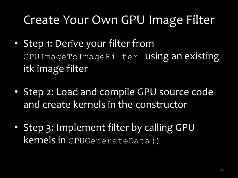 Create Your Own GPU Image Filter
