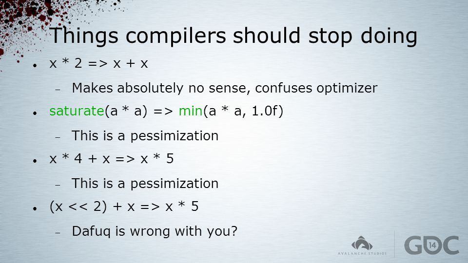 Things compilers should stop doing