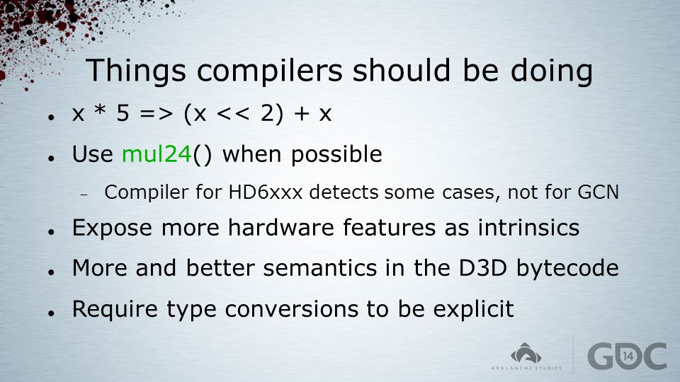 Things compilers should be doing
