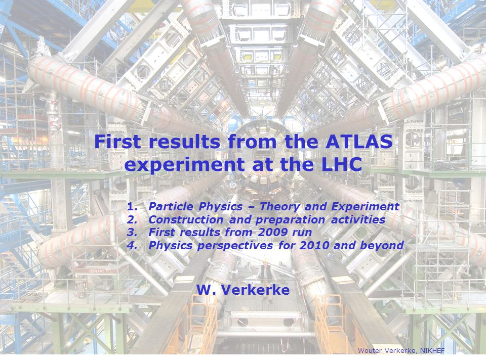 First results from the ATLAS experiment at the LHC