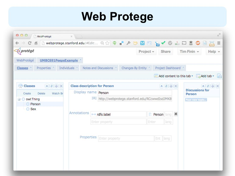Web Protege