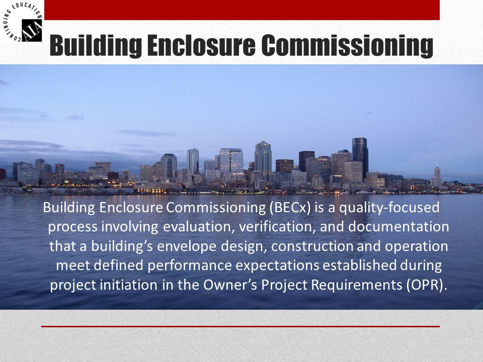 Building Enclosure Commissioning