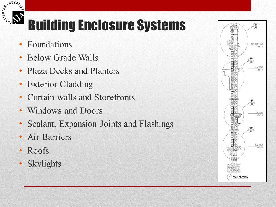 Building Enclosure Systems