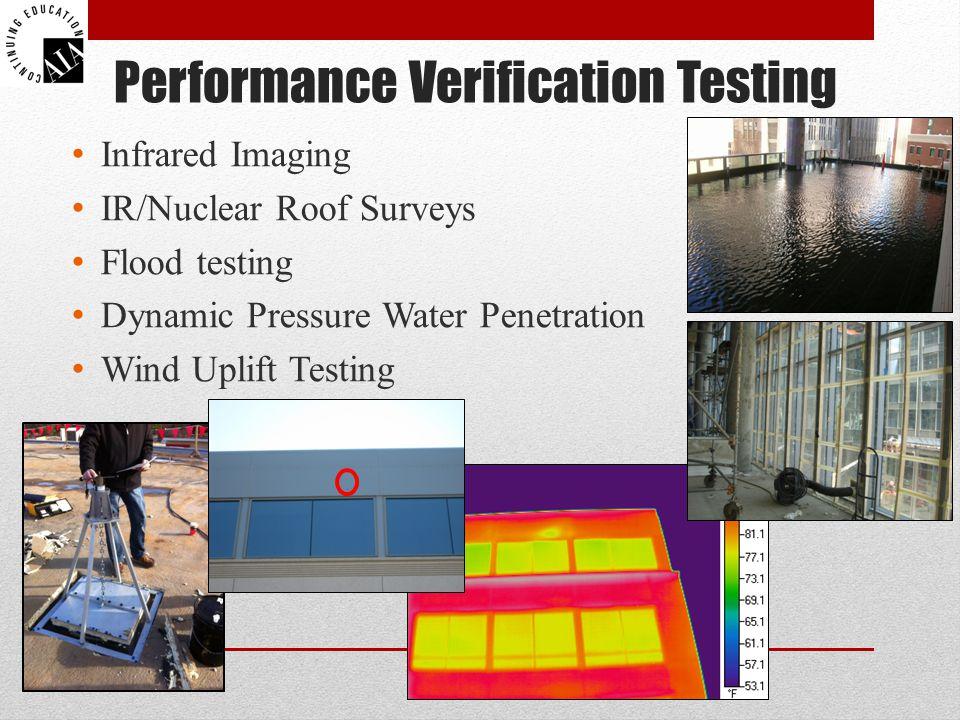 Performance Verification Testing